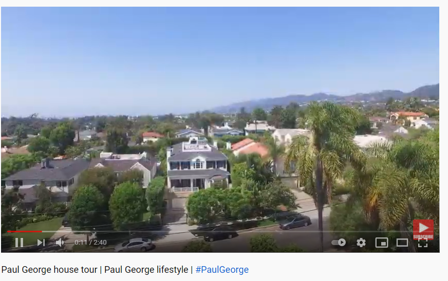 Take a glance at this video if you want to look into Paul George's house