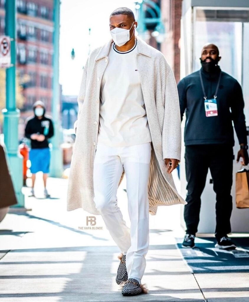 Westbrook is high on his fashion game