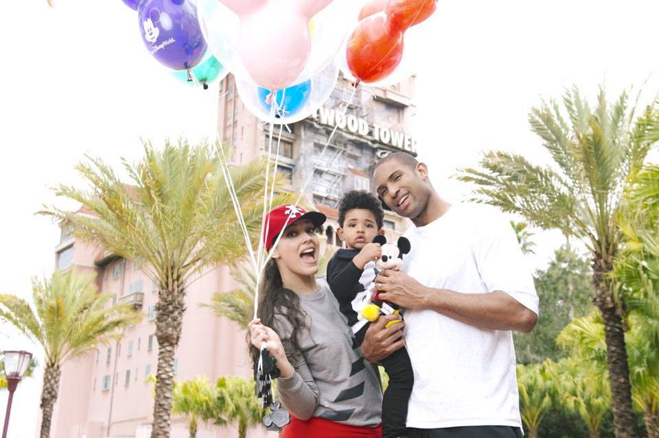 Al Horford's vacation with his family