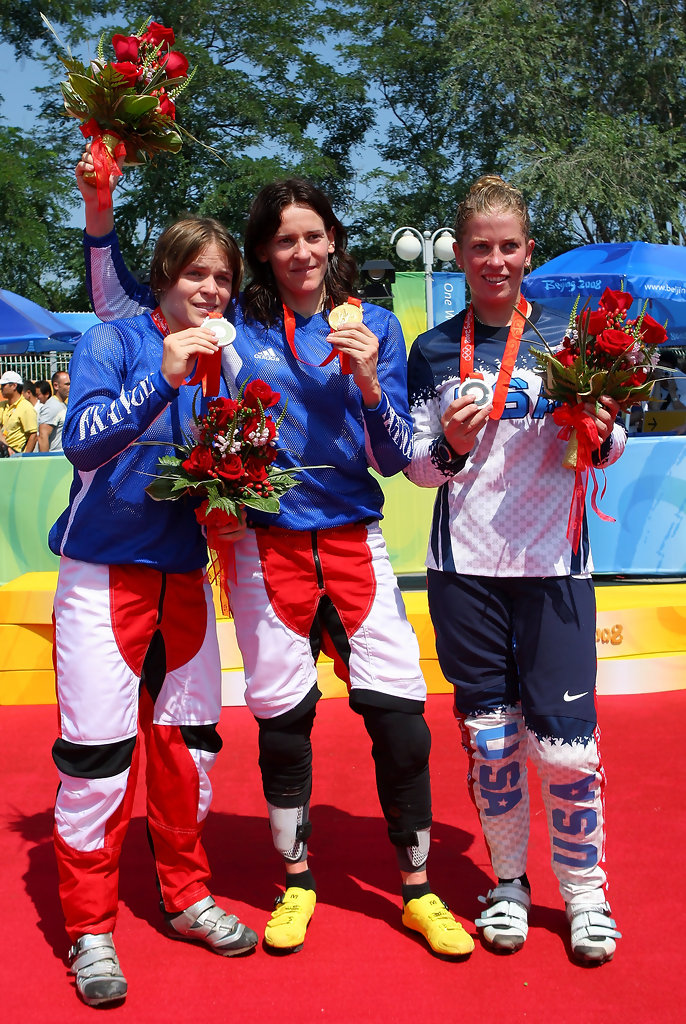 Anne Caroline Chausson At The Olympics