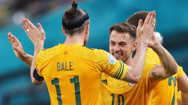 Bale and Ramsey revive the classic Wales combination (Source: BBC)