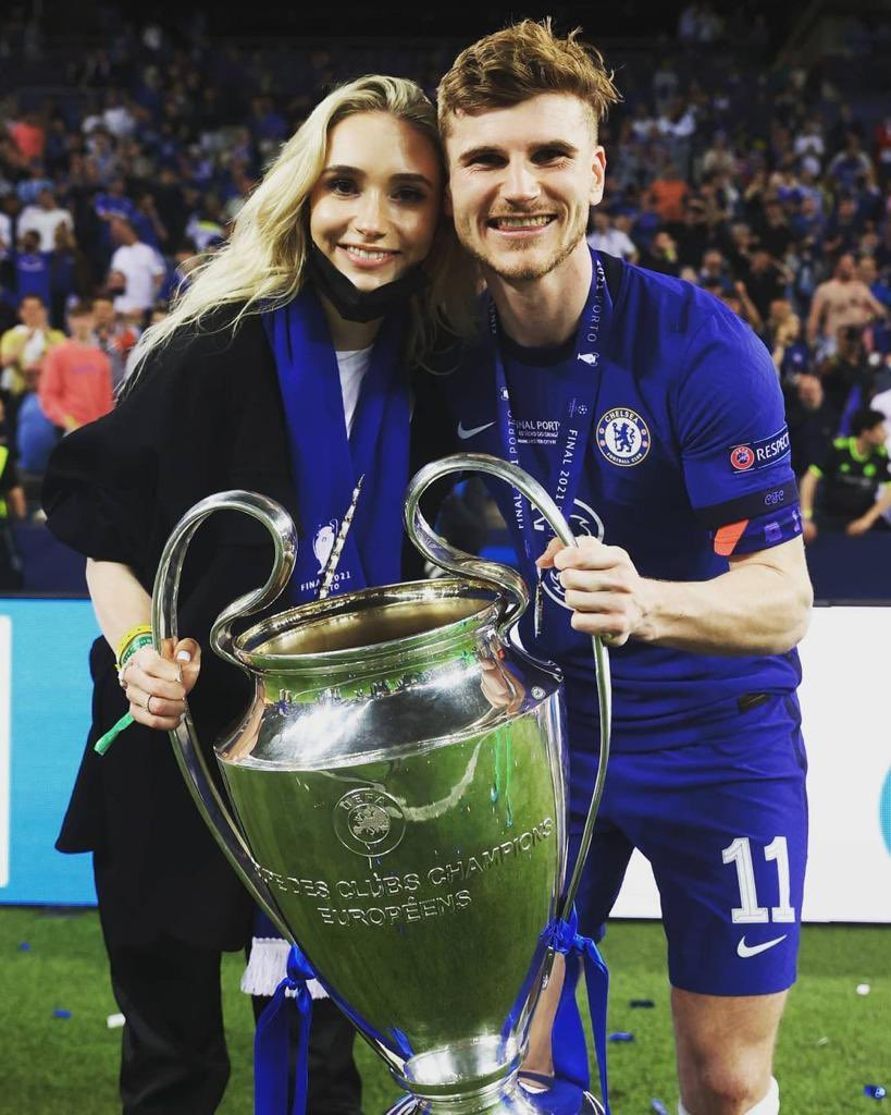 Timo Werner, UCL trophy