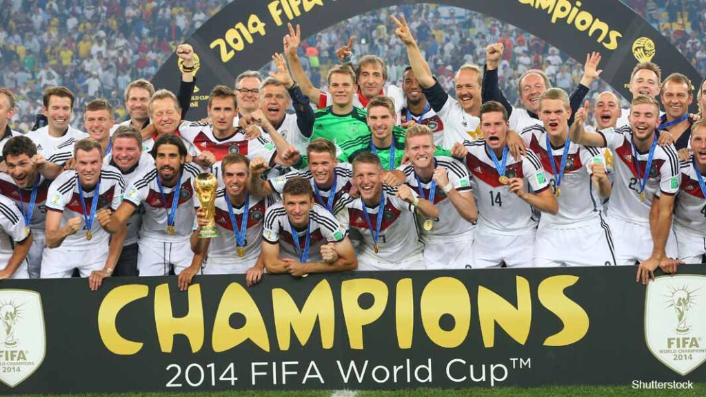 Germany World Cup 2014 Win