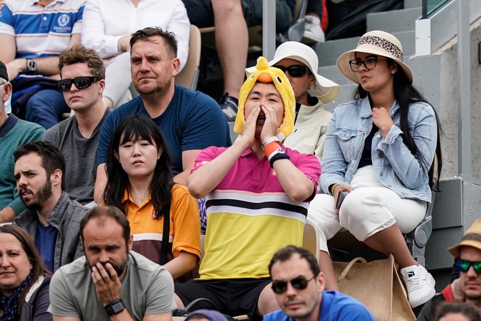 French Open 2021 limits audience (Source: Forbes)