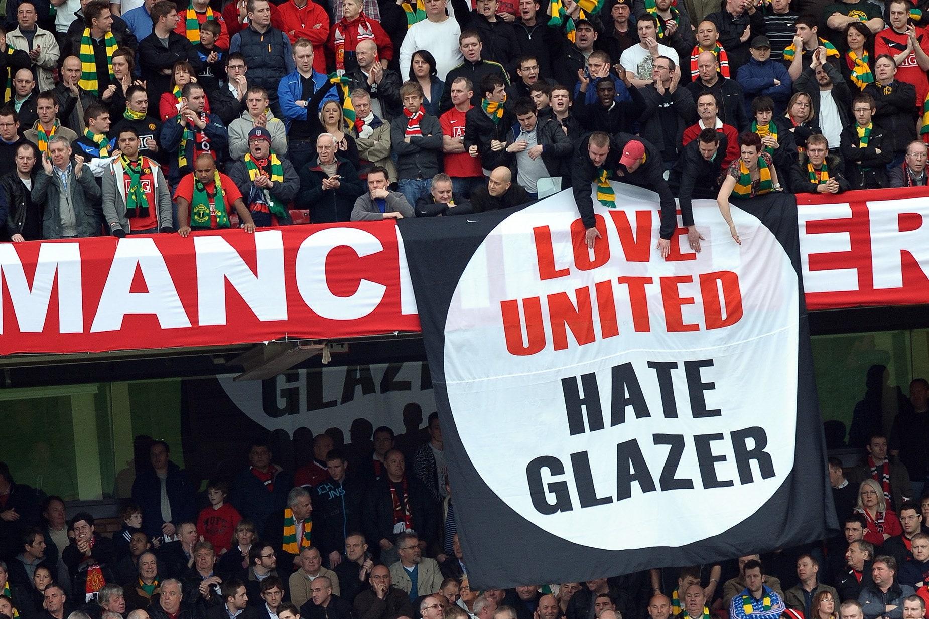 Glazer takes fans' complaints (Source: British GQ)