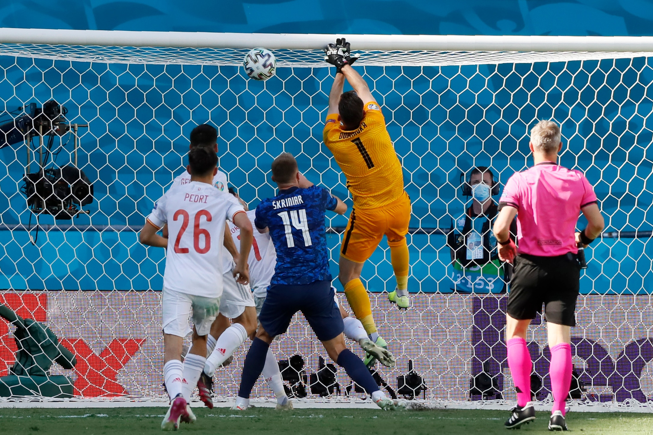 Martin Dubravka's own goal to give Spain a helping hand (Source: GM Newsshub)