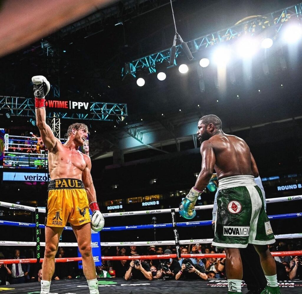 Mayweather-Paul bout ends in no winner