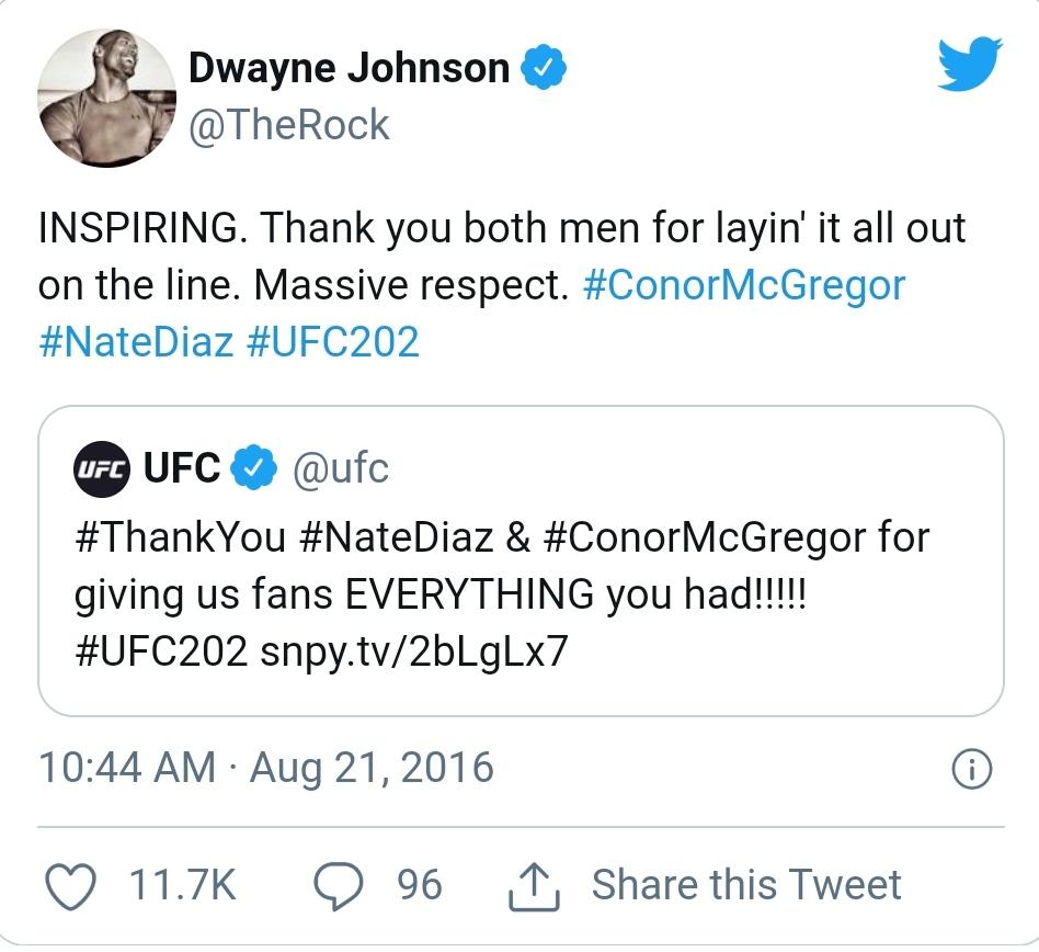 Nate Diaz vs. Conor McGergor