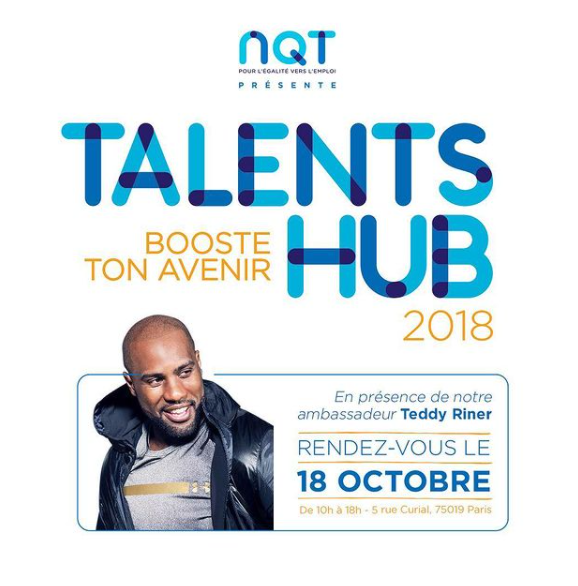 Teddy, ambassador of Talent hub NQT