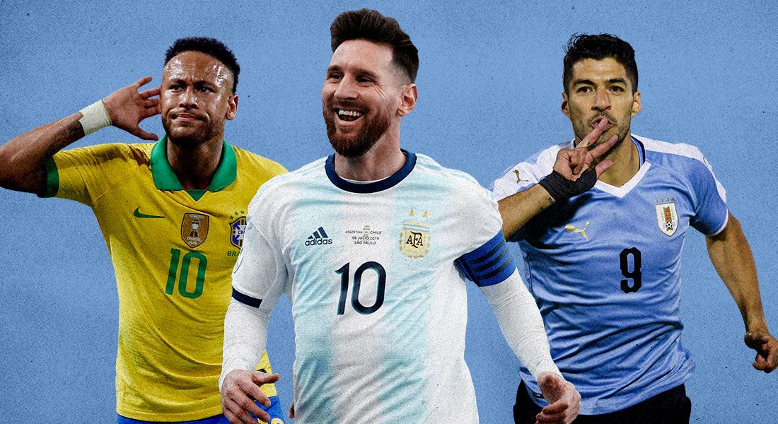 The favorites in Copa America (Source: Foot The Ball)