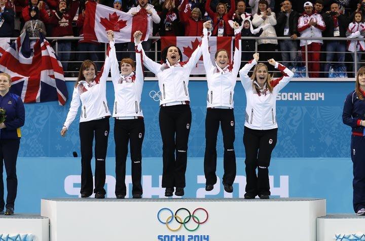 Jennifer Jones on Olympics