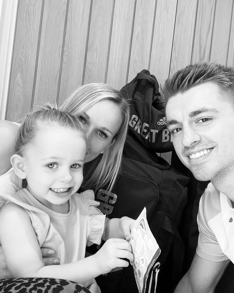 Max Whitlock with his family