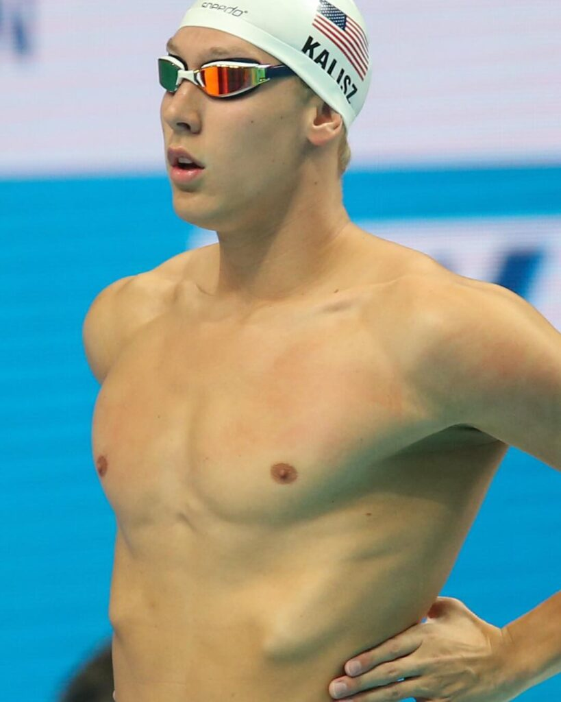 Chase Kalisz is an Olympic gold winning swimmer