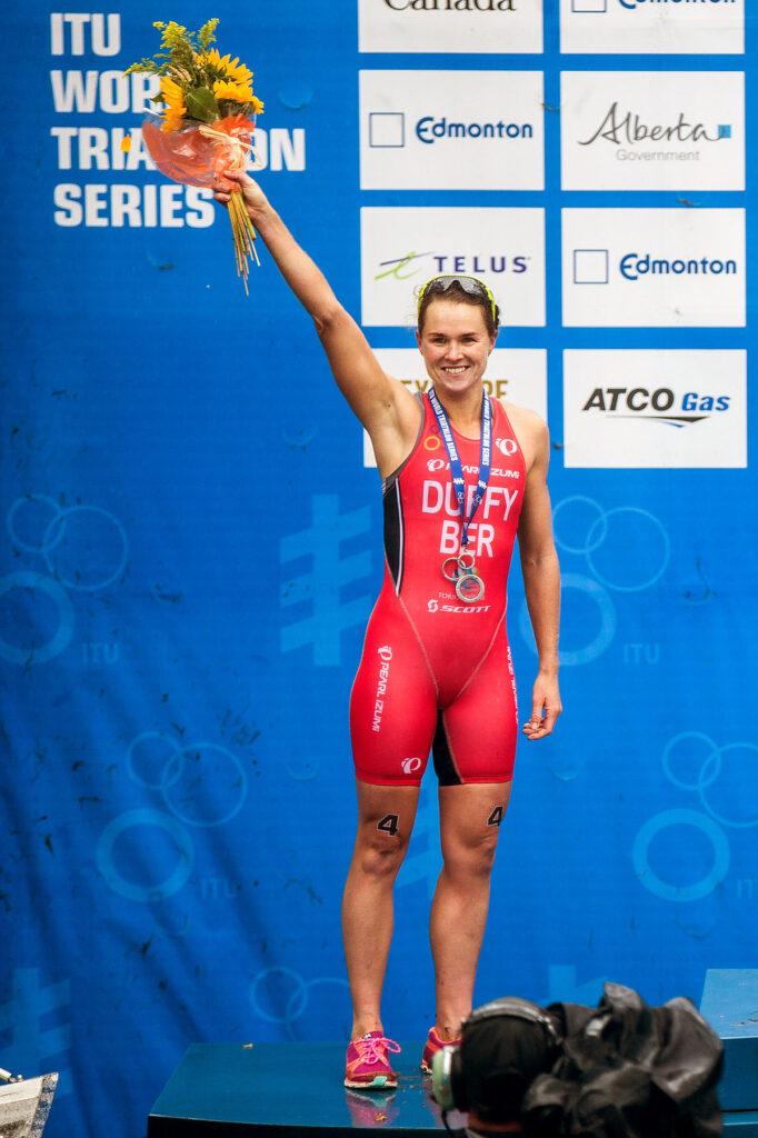 Flora Duffy Toky Olympic glod Medal Winner