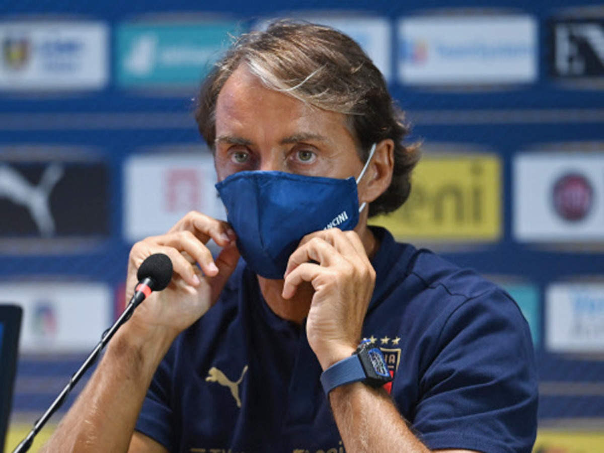 Mancini has taken on a team that had failed to qualify for the 2018 World Cup (Source: Times of India)