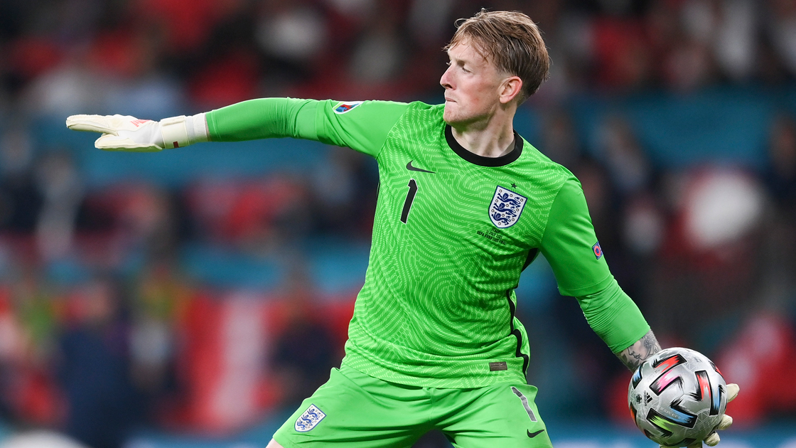 Pickford performed heroics to save two penalties (Source: Everton FC)