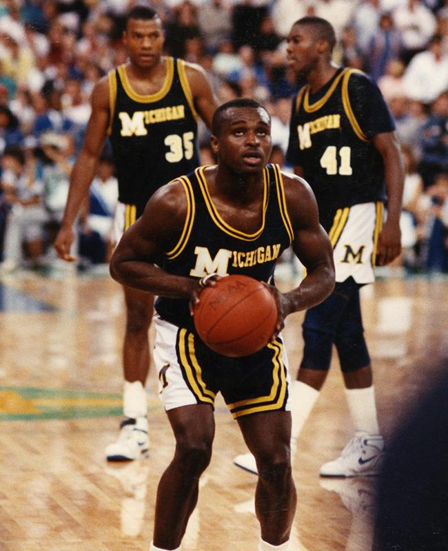 Rumeal Robinson At University of Michigan