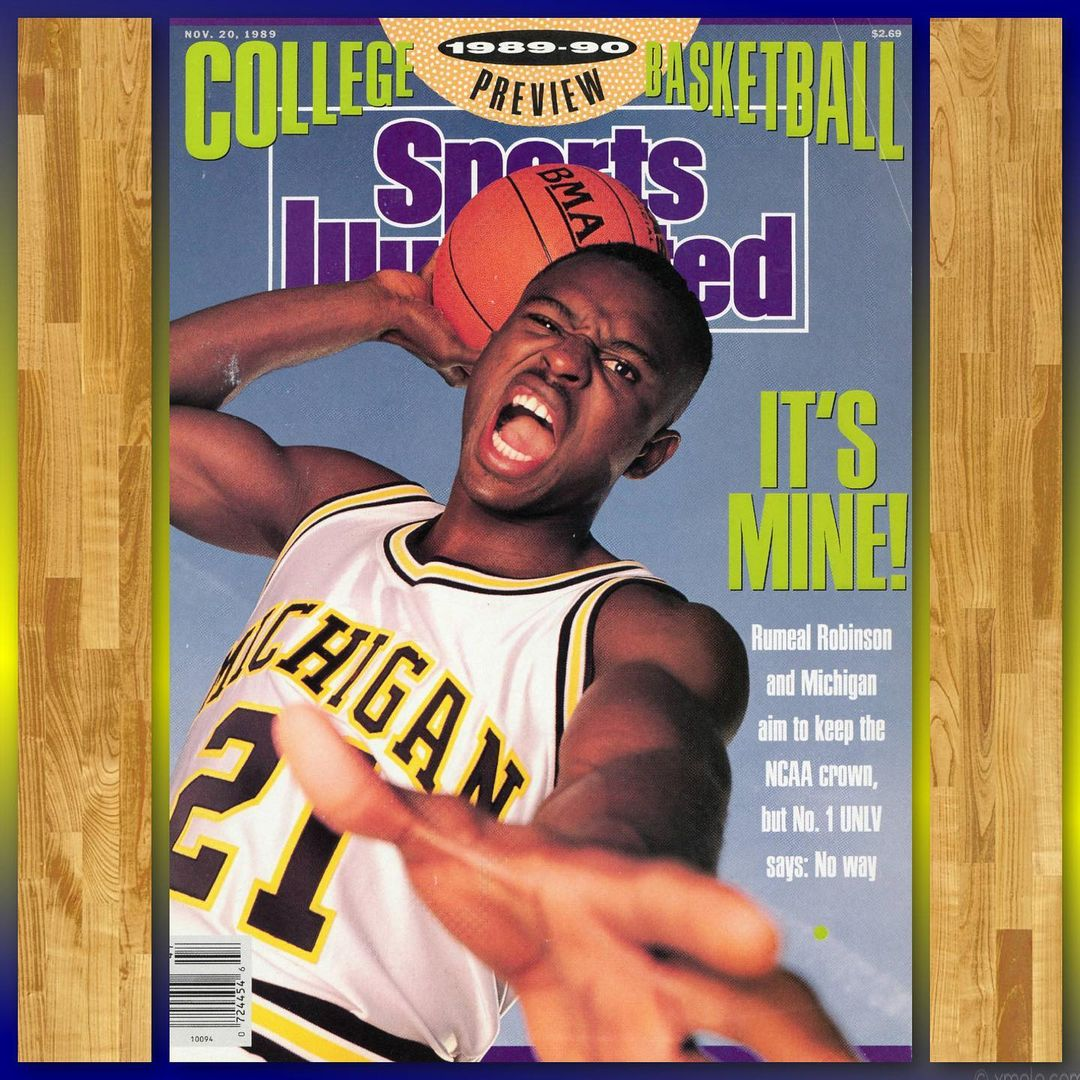 Rumeal Robinson Sports Illustrated Cover