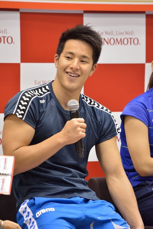 Daiya Seto is a Japanese swimming world champion