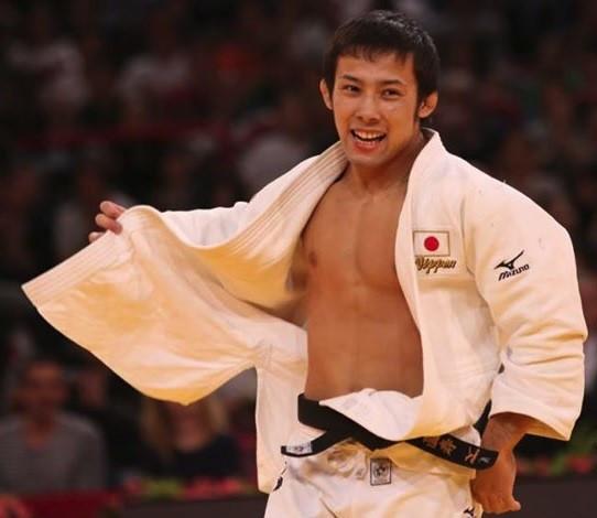 Naohisa Takato in the 2017 Grand Slam Paris.