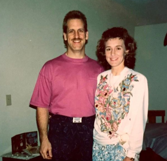 Mr and Mrs Rodgers back in their days