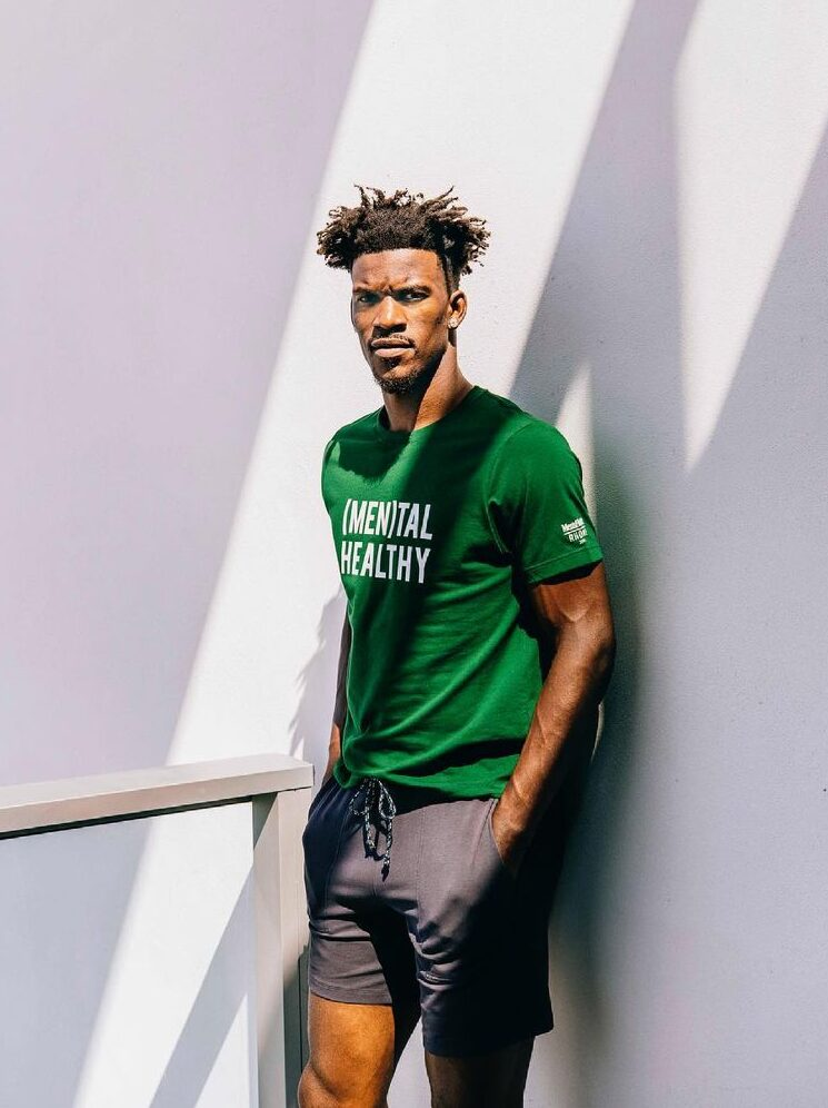 Jimmy Butler dressed casually