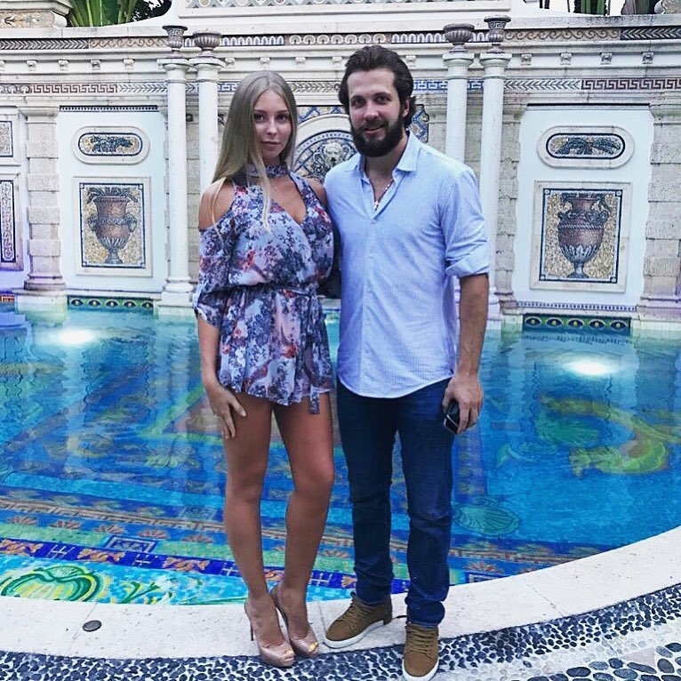 Anastasia Kucherova With Her Husband Nikita Kucherov (Source: Instagram: nikitakucherov86)