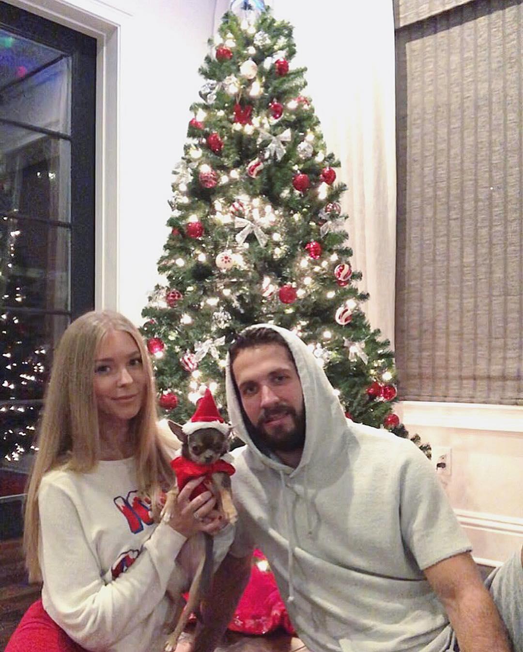Nikita Kucherov's Wife: Anastasia Kucherova Celebrating Christmas Together (Source: Instagram: nikitakucherova86)