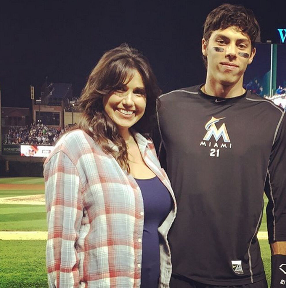 Alecia-Yelich-With-Her-Son