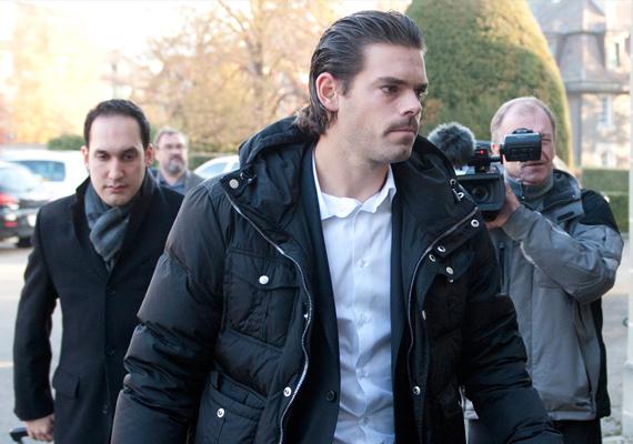 Daniel Koellerer on his way to court