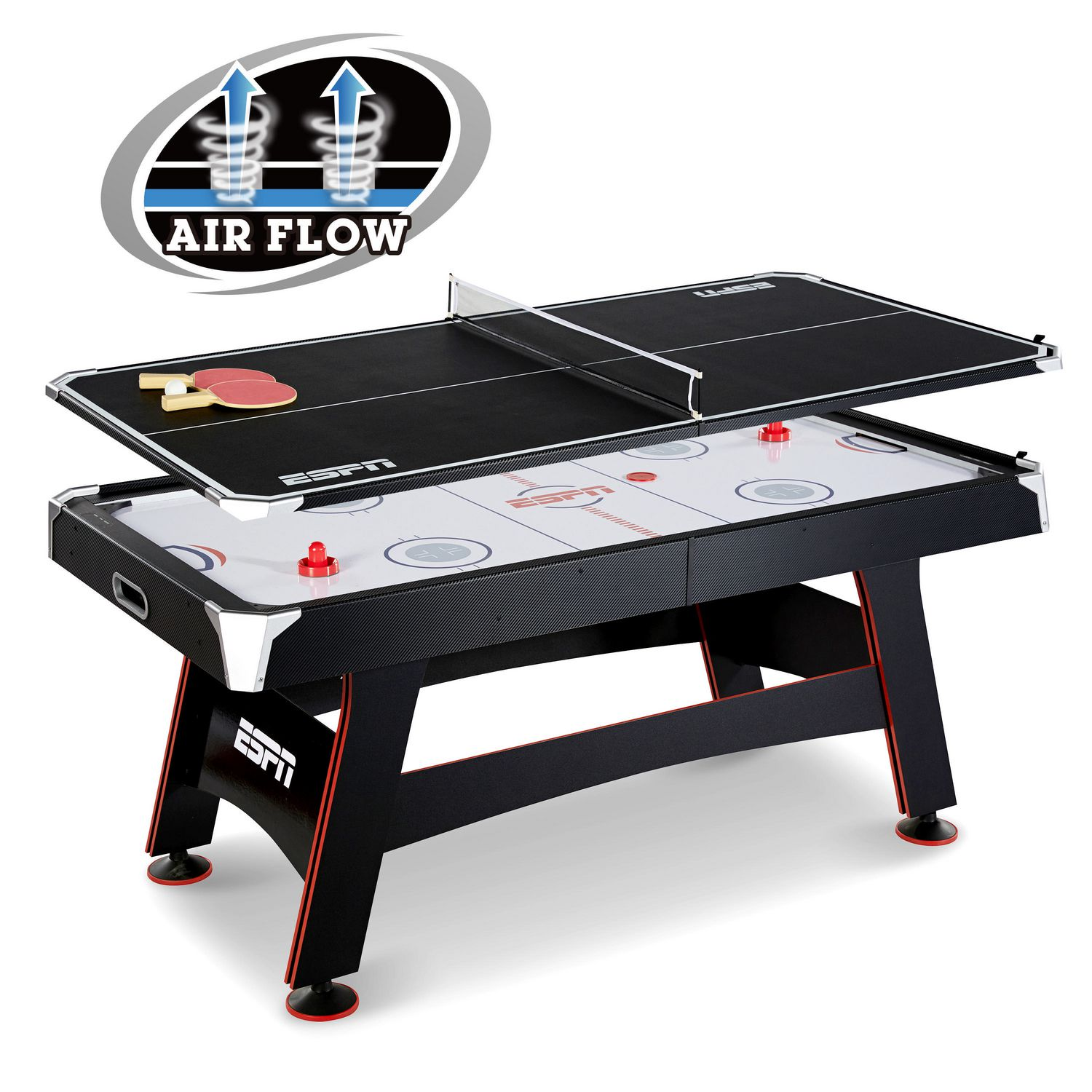 ESPN's Air Hockey and Table Tennis Game