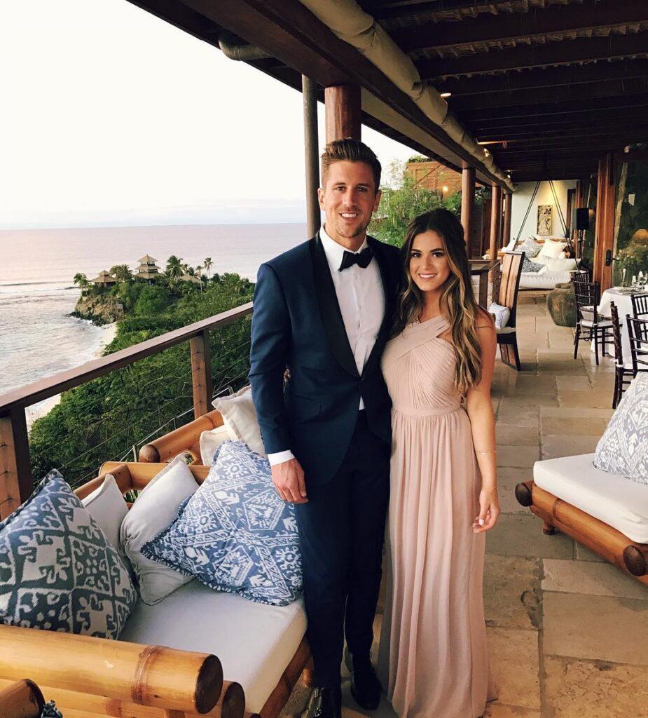 Jordan Rodger along with his fiancé Jojo Fetcher (Source: Instagram)