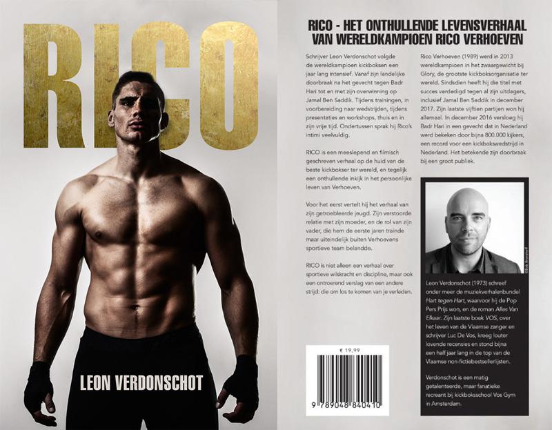 Rico Verhoeven Book