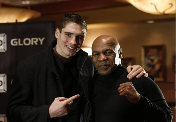 Rico Verhoeven With Mike Tyson
