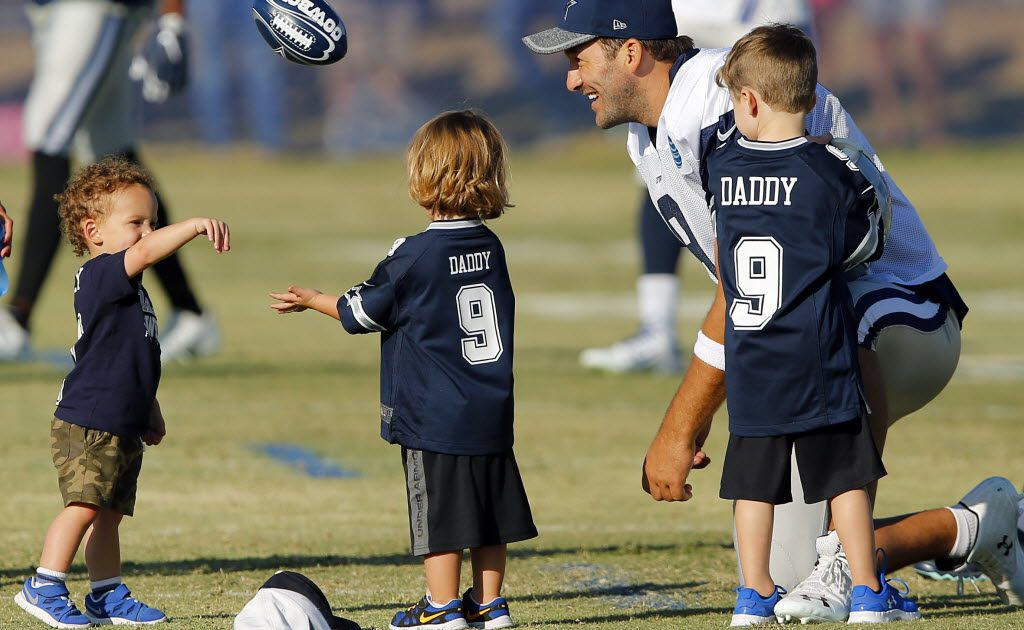 Candice Crawford's three kids with their father Tony Romo
