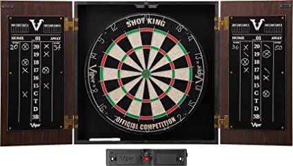 Viper Stadium Cabinet & Shot King Sisal/Bristle Dartboard