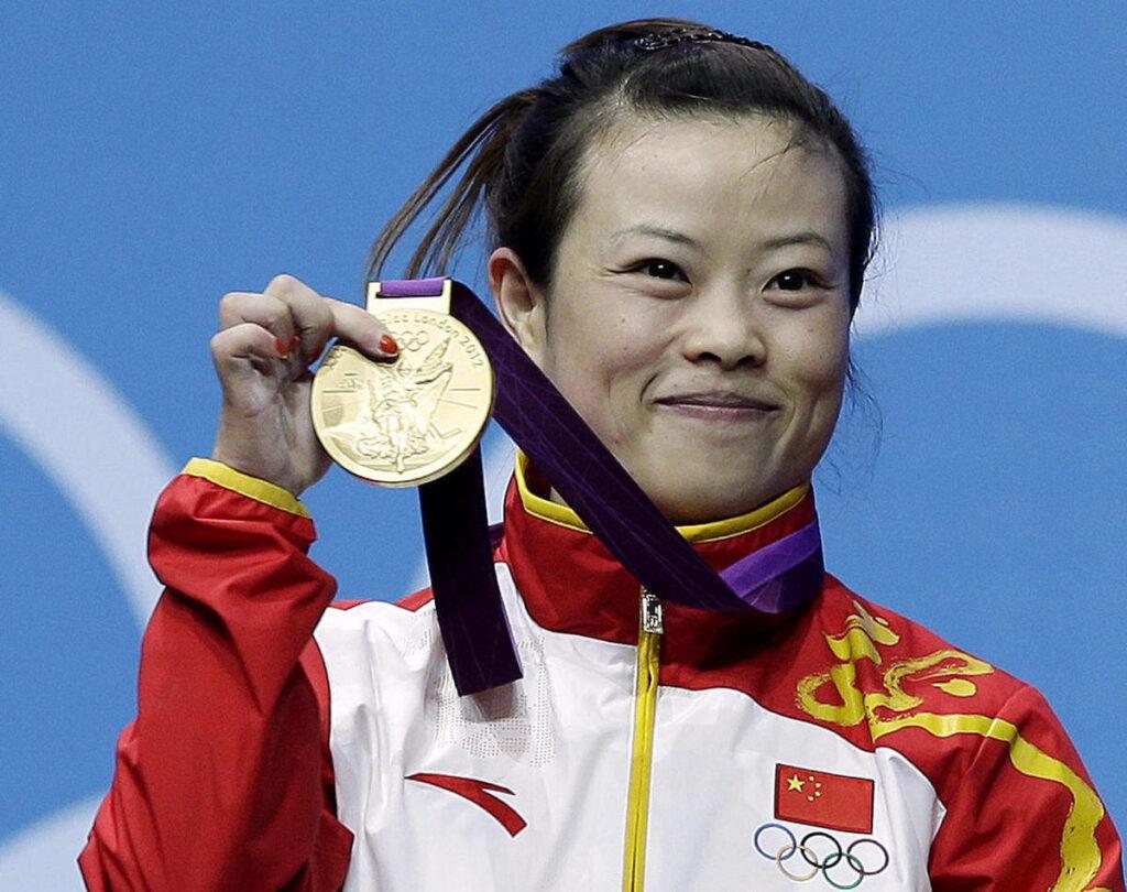 Wang Mingjuan Olympic Medal
