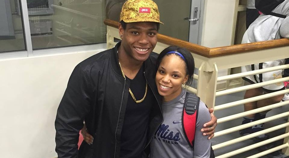 Jalen Ramsey with Breanna Tate