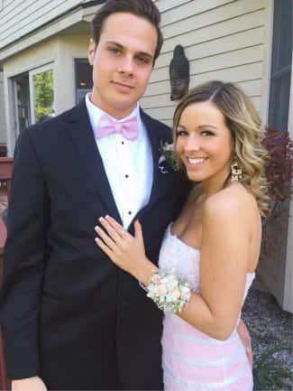 Emily Ruttledge and her boyfriend Auston Matthews ( Souce: Wiki Project)
