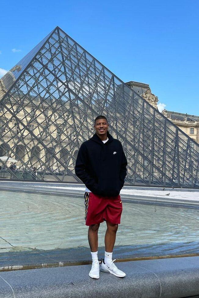 Kenneth Ferguson enjoying his vacation