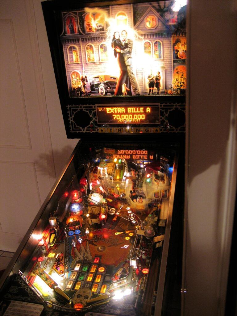 Addams-family-pinball-machine