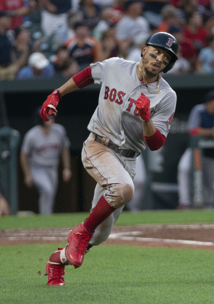 Biggest MLB Contract Holder Mookie Bretts