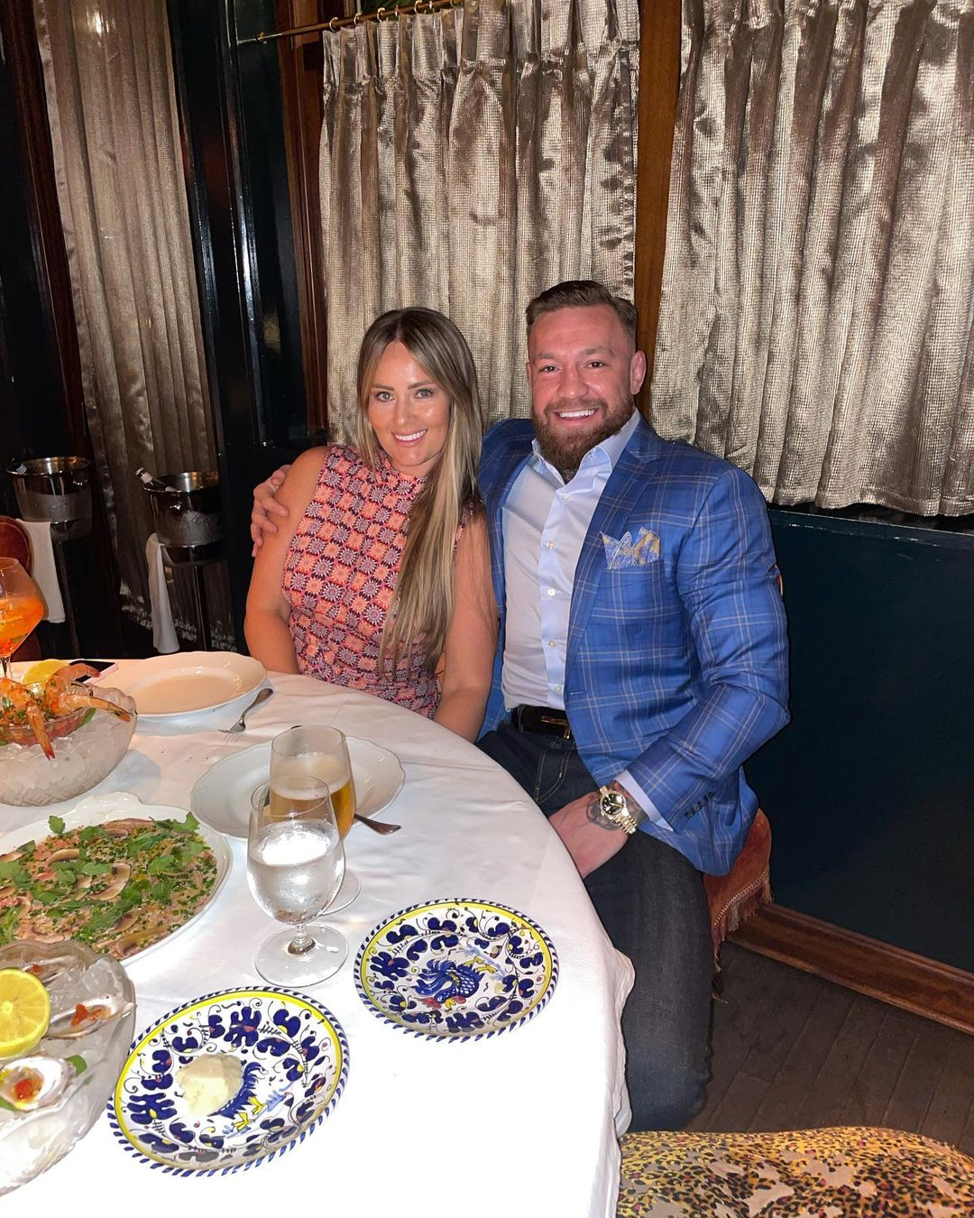 Conor McGregor and His Wife
