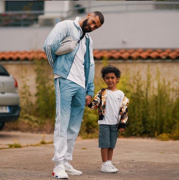Karim and his son