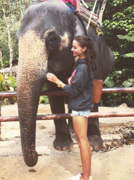 Nicole Meyer, before fame in Thailand. (Source: Instagram)